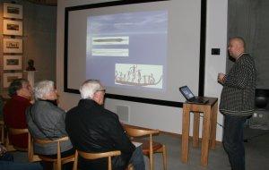 Frans-Arne Stylegar holder foredrag på Kulturtorvet