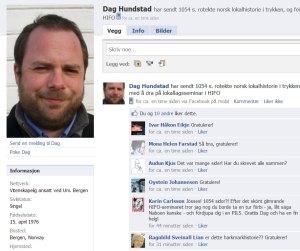 Dag Hunstad (Facebook)