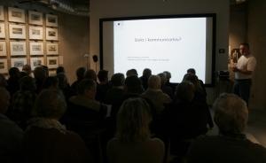 Kjetil Reithaug fra IKAVA presenterte kommunale kilder