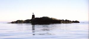 Varden på Olavskjæran. Foto: Rasmus Strømme