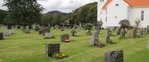 Spangereid kirkegård