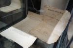 Peter Tore Gabrielsen hadde med seg originaldokumenter fra 1814 som ble utstilt.