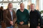Kjell Olav Masdalen, John Rustad og Rolf Steinar Bergli.