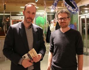 Gaute Heivoll og Tormod Engebu.